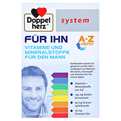 DOPPELHERZ FÜR IHN system Tabletten 30 Stück - Vorderseite