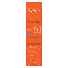 AVENE Cleanance Sonne SPF 50+ Emulsion 50 Milliliter - Vorderseite
