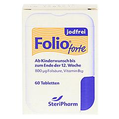 Folio forte jodfrei Filmtabletten 60 Stück - Vorderseite