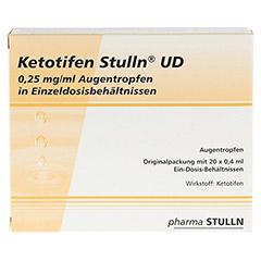 Ketotifen Stulln UD 0,25mg/ml Augentropfen 20x0.4 Milliliter N2 - Vorderseite
