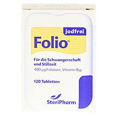 Folio jodfrei Tabletten 120 Stück - Vorderseite