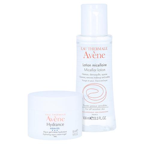 Avène Hydrance Aqua-Gel + gratis AVENE Mizellen Reinigungslotion 100 ml 50 Milliliter