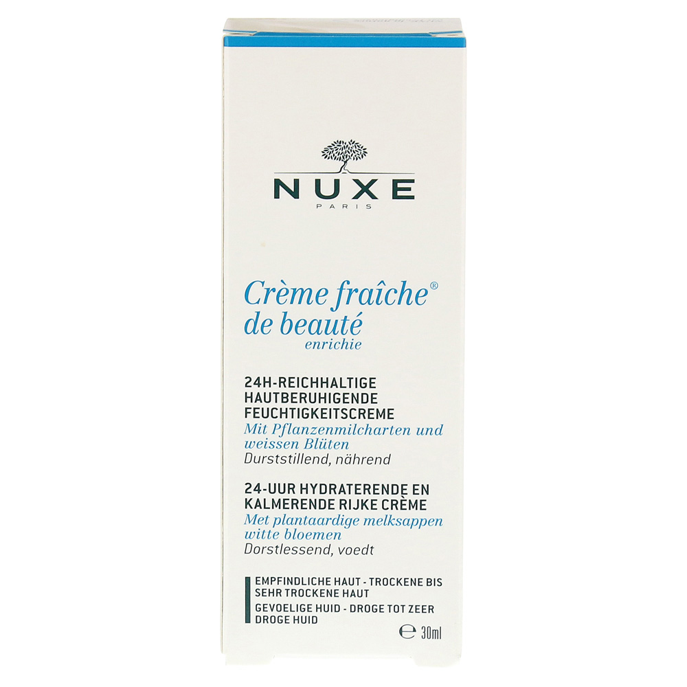 nuxe creme fraiche de beaute enrichie 30 milliliter online bestellen medpex versandapotheke. Black Bedroom Furniture Sets. Home Design Ideas