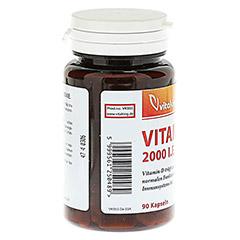 VITAMIN D 2000 I.E. Kapseln 90 Stück - Linke Seite