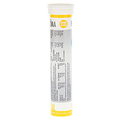 PRIMA VITAL Zink+Vitamin C+E Brausetabletten 20 Stück - Linke Seite