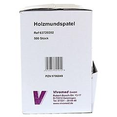 HOLZMUNDSPATEL Eco-Pack 500 Stück - Linke Seite