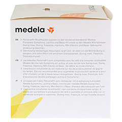 MEDELA Personal Fit Brusthaube Gr.M 2 St 1 Packung - Rechte Seite