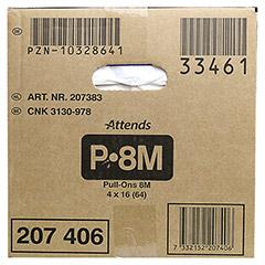 ATTENDS Pull-Ons 8 medium 4x16 Stück - Rechte Seite