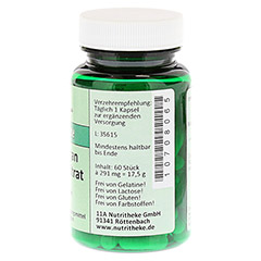 MANGAN 5 mg Citrat Kapseln 60 Stück - Rechte Seite
