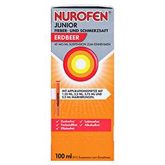 Nurofen Junior Fieber- & Schmerzsaft Erdbeer 40 mg/ml 100 Milliliter N1 - Rechte Seite