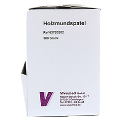 HOLZMUNDSPATEL Eco-Pack 500 Stück - Rechte Seite