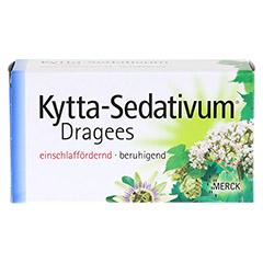 Kytta-Sedativum Dragees + gratis Kytta Kühlkompresse 100 Stück - Vorderseite