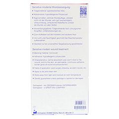 GOTA-POR Wundpflaster steril 100x200 mm 5 Stück - Rückseite