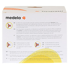 MEDELA Personal Fit Brusthaube Gr.M 2 St 1 Packung - Rückseite