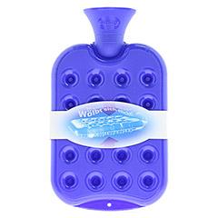 FASHY Kissen-Wärmflasche königsblau 1 Stück - Rückseite
