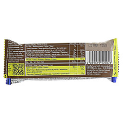 POWERBAR Protein Plus 30% Chocolate 55 Gramm - Rückseite