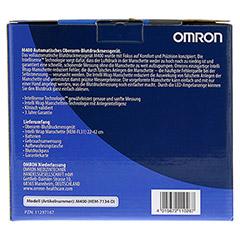OMRON M400 Oberarm BMG mit Intelli Wrap Manschette 1 Stück - Rückseite