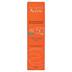 AVENE Cleanance Sonne SPF 50+ Emulsion 50 Milliliter - Rückseite