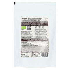 BAOBAB Pulver Bio Qualität 100 Gramm - Rückseite