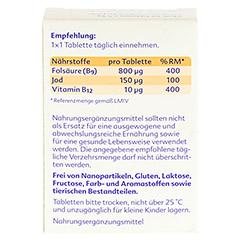 Folio forte+B12 Tabletten 60 Stück - Rückseite
