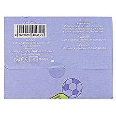 KINDERPFLASTER Fußballjungs Briefchen 10 Stück - Rückseite