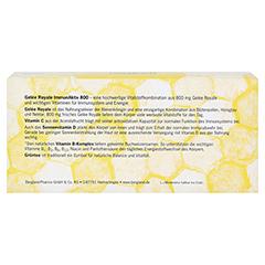GELEE ROYALE ImmunAktiv 800 15 ml Trinkampullen 14 Stück - Rückseite