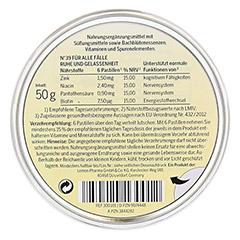Für alle Fälle Bachblütenpastillen nach Dr. Bach 50 Gramm - Rückseite