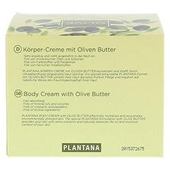 PLANTANA Olive Butter Körper Creme 500 Milliliter - Oberseite