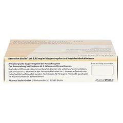 Ketotifen Stulln UD 0,25mg/ml Augentropfen 20x0.4 Milliliter N2 - Oberseite