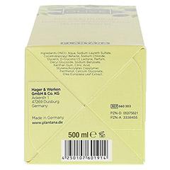 PLANTANA Olive Butter Pflege Duschbad 500 Milliliter - Unterseite