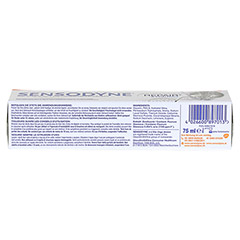 SENSODYNE Repair & Protect whitening Zahnpasta 75 Milliliter - Unterseite