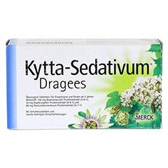Kytta-Sedativum Dragees + gratis Kytta Kühlkompresse 100 Stück - Rückseite