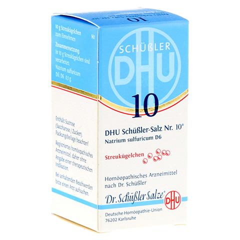 BIOCHEMIE DHU 10 Natrium sulfuricum D 6 Globuli 10 Gramm N1