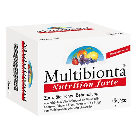 MULTIBIONTA Nutrition forte Kapseln 90 Stück