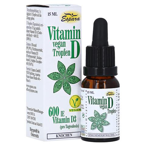 VITAMIN D Tropfen vegan 15 Milliliter
