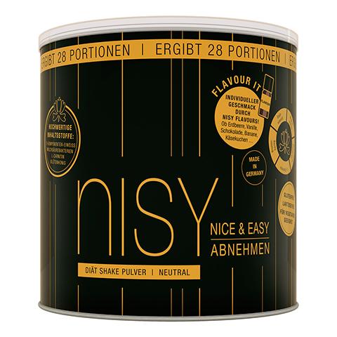 NISY Diät Shake Pulver neutral 28 Portionen 980 Gramm