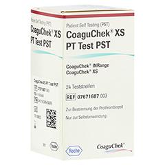 COAGUCHEK XS PT Test PST 1x24 Stück