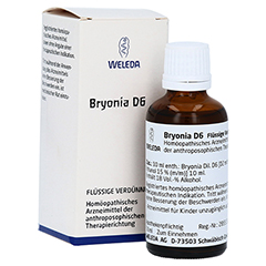BRYONIA D 6 Dilution 50 Milliliter N1