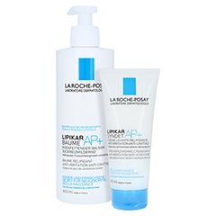 La Roche-Posay Lipikar Baume AP+ Rückfettender Körperbalsam + gratis La Roche Posay Lipikar Shower Gel 100 ml 400 Milliliter