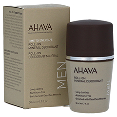AHAVA Roll-on Mineral Deodorant men 50 Milliliter