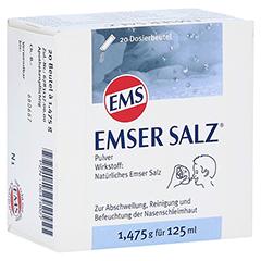 Emser Salz im Beutel 1,475g 20 Stück N1