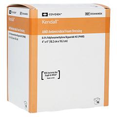 KENDALL AMD Schaumverb.10x10cm m.PHMB 10 Stück