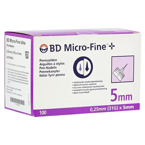 BD MICRO-FINE ULTRA Pen-Nadeln 0,25x5 mm 100 Stück