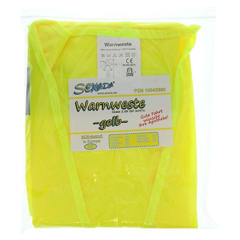 SENADA Warnweste gelb im Beutel 1 Stück