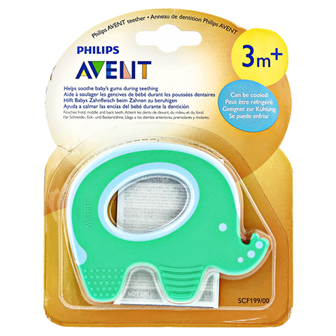 AVENT Teether Elephant Single 1 Stück
