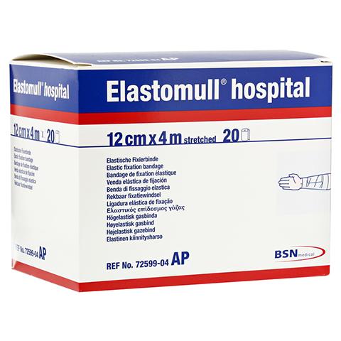 ELASTOMULL hospital 12 cmx4 m elast.Fixierb.weiß 20 Stück