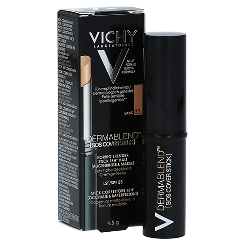 VICHY DERMABLEND SOS-Cover Stick 35 4.5 Gramm