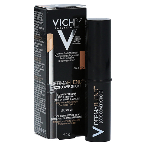 VICHY DERMABLEND SOS-Cover Stick 45 4.5 Gramm