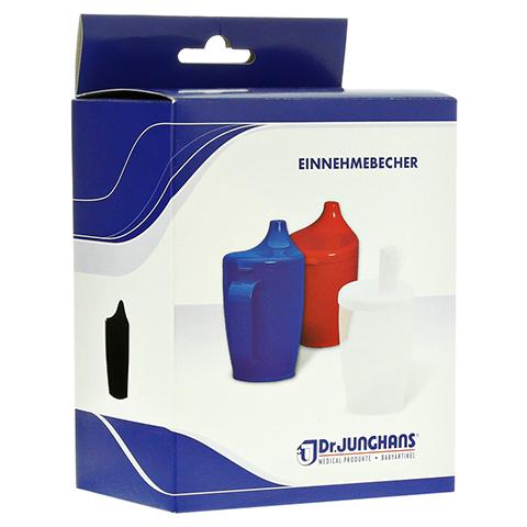 EINNEHMEBECHER Kunststoff m.2 Trinkdeckel 1 Stück