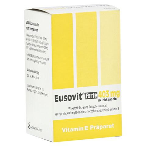 EUSOVIT forte 403 mg Weichkapseln 50 Stück N2